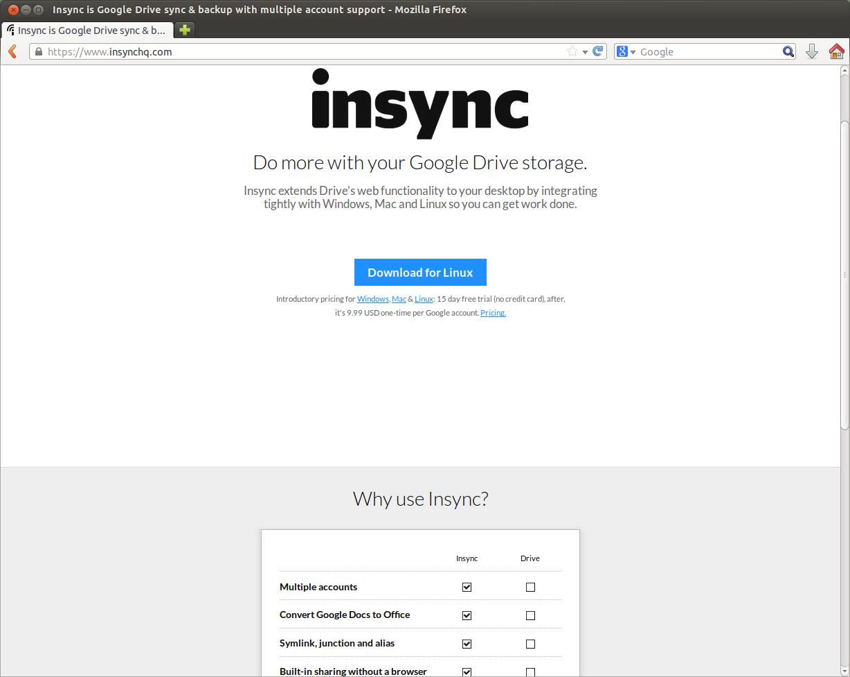 Insync Proにアップグレードしてみた | BROKENDISH