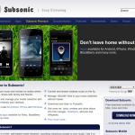 Subsonic 4.9.beta1にアップデート(Debian)