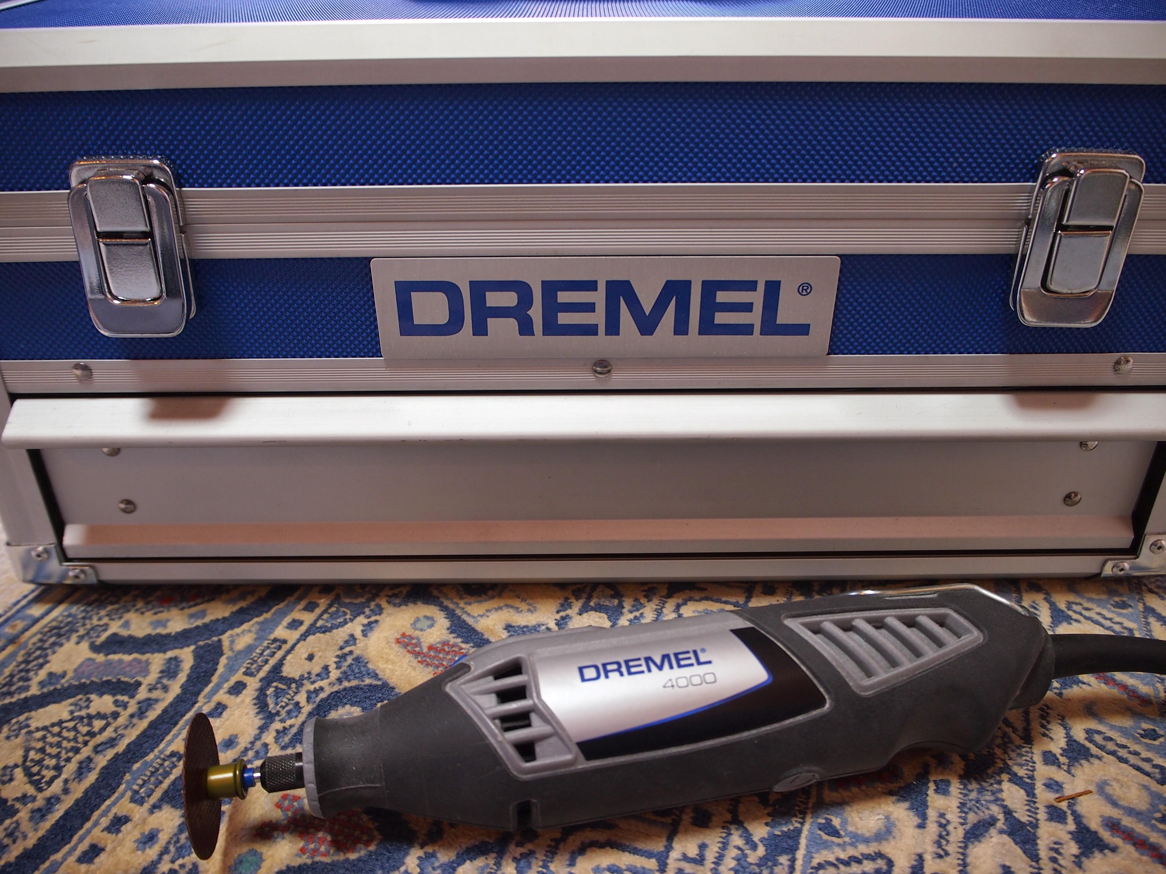 ドレメル(DREMEL)ハイスピードロータリーツール(DIY)