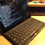 レノボジャパン ThinkPad Tablet 2 BluetoothキーボードとXperia Tablet