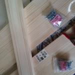 簡単な棚の作り方「幅30cm、奥行20cm」(DIY)