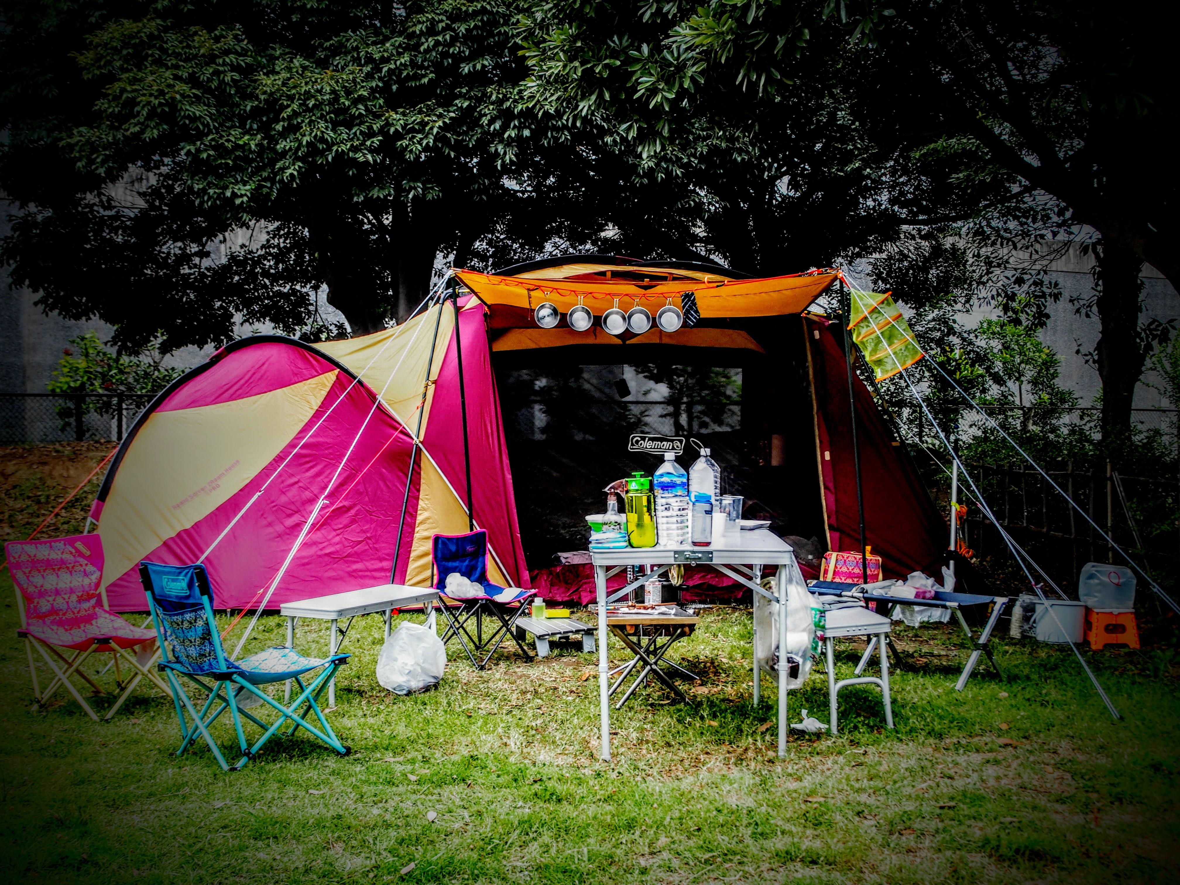 城南島海浜公園キャンプ場の楽しみ方