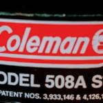 Coleman 508Aストーブのバルブ交換