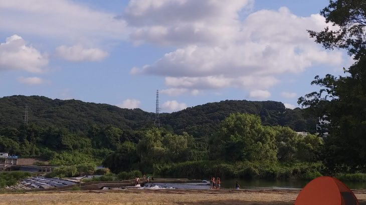 郷土の森バーベキュー場(府中市)でデイキャンプ