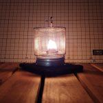 CfOilLamp.Globe(食用油燃料のランプ)を作成